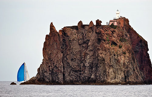 Stromboli lighthouse