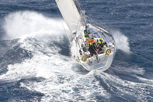 Nisida in the Rolex Middle Sea Race 2007